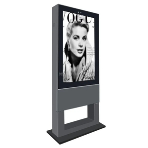 Dedi 55inch outdoor waterproof lcd advertising floor stand digital signage