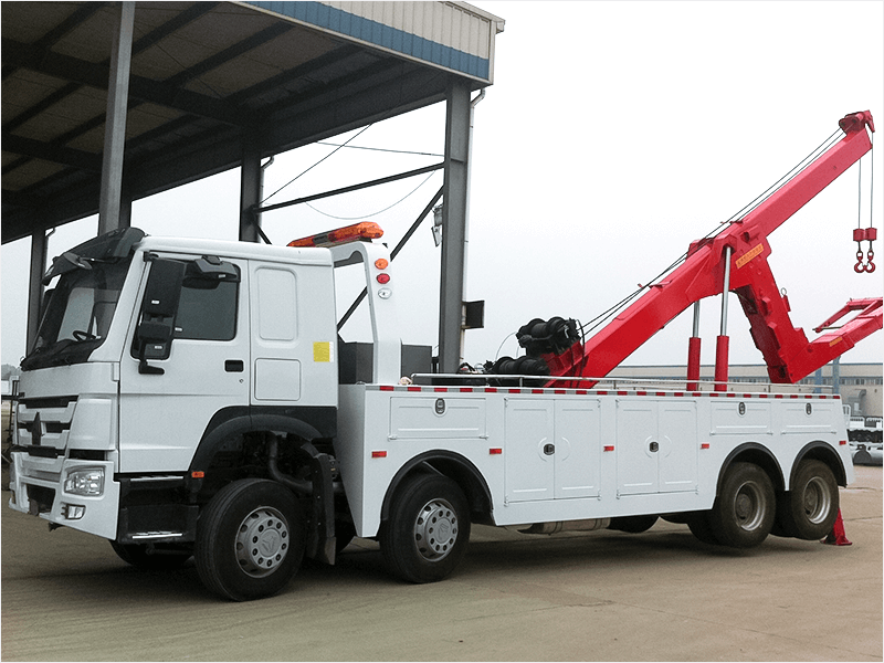 HOWO 8X4 Recovery Truck