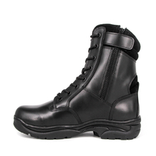 Malaysia zipper black men military tactical boots 6295