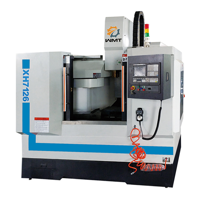 XH7126 Industrial Grade 3 Axis Cnc Milling Machine with Servo Drive
