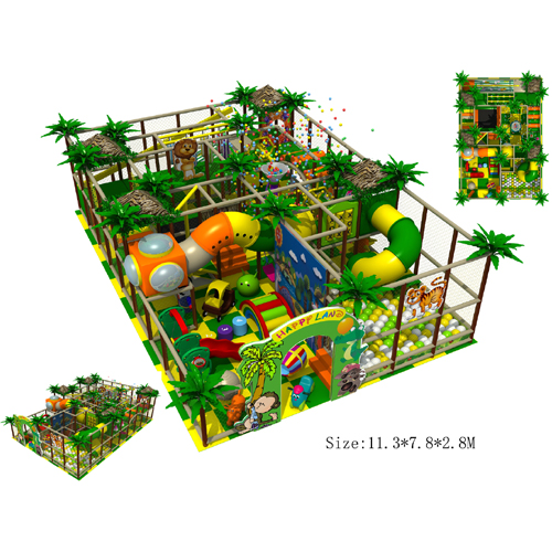 Indoor playground set