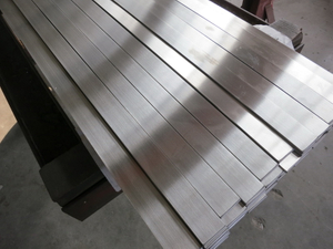 1 inch AISI 304 cold drawn stainless steel flat bar