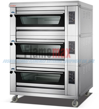 HEO-60T Digital Stackable Electric Baking Oven (3-deck 6-tray)