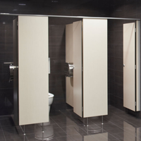 The Compact Laminate Toilet Partitions' Usage Range And Introduction