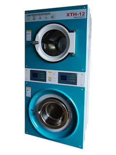 Coin washer dryer