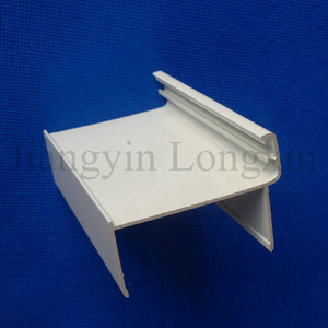 White Coated Aluminium Profile as Door Frame