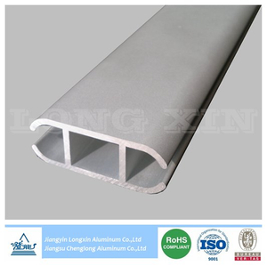 Sandblasted Anodized Aluminum Profile for Decoration