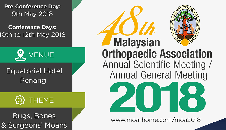 Welcome to FULE booth for the 48th Malaysian Orthopaedic Association MOA 2018