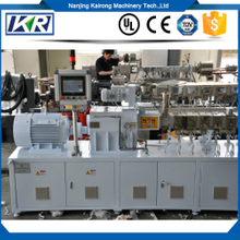Stone Paper Extrusion Line Stone Paper Production Line/pe+caco3 Filler Masterbatch Compounding Twin Screw Extruder