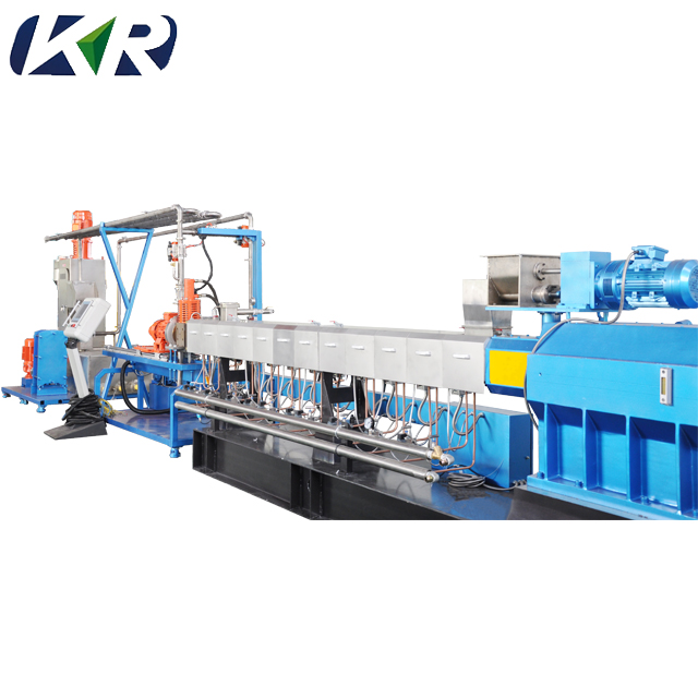 Mini Plastic Pellet Polymer Compound Parallel Co-rotating Masterbatch Twin Screw Extruder Machine