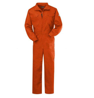 Flame retardant safety working coverall fire proof