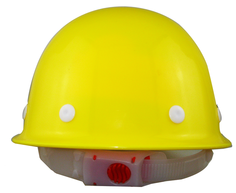 PE materials cheap construction safety helmet