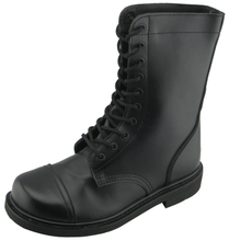97112 correct goodyear welt leather army boots