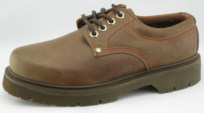 Goodyear Crazy Horse Leather Safety Shoes