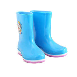 KRB-005 Hot sales anti slip fashion waterproof girls rain boots