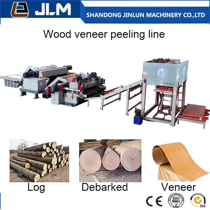 Plywood Veneer Production Line for Plywood