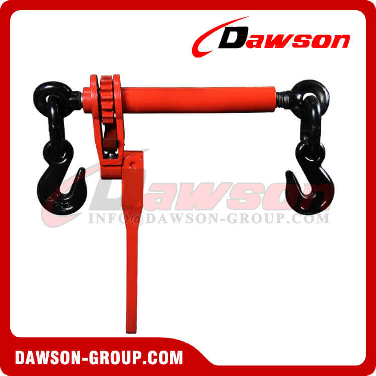 Folding Handle Ratchet Binder with Eye Grab Hook for Chain Size 5-1'' - 3-8'' WLL 7100LBS - Dawson Group Ltd. - China Manufacturer, Supplier, Factory