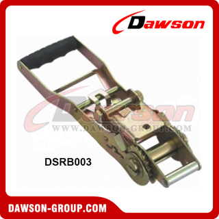 "DSRB003 BS 5000KG/11000LBS 2"" Plastic Handle Ratchet Buckle"