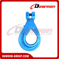 G100 / Grade 100 European Type Forged Clevis Self-Locking Hook for Lifting Chain Slings