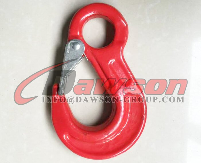 G80 Eye Sling Hook with Cast Latch - Dawson Group Ltd. - China Supplier