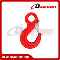 G80 / Grade 80 Eye Sling Hook with Latch for Wire Rope Lifting Slings