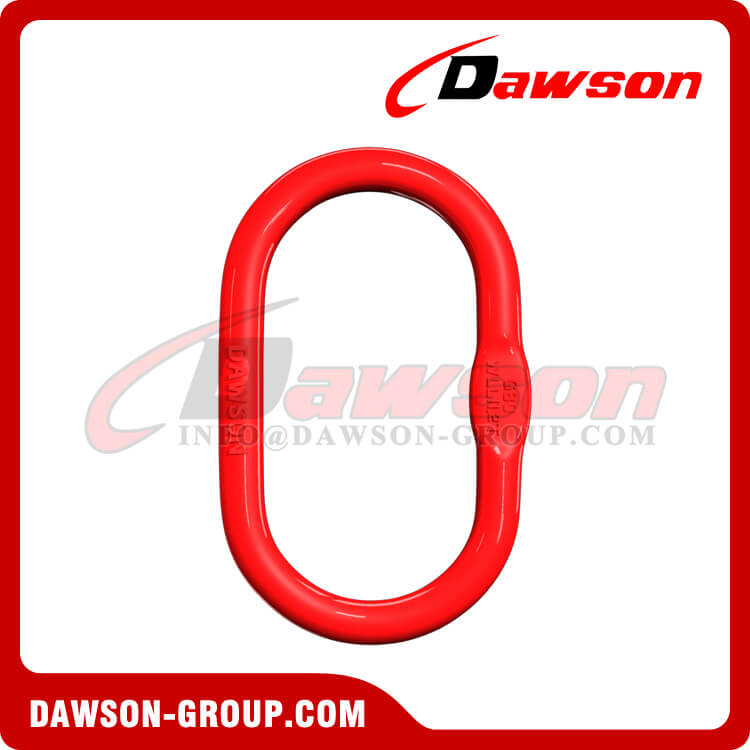 DS033 A-343 G80 European Type Master Link for Chain Lifting Slings / Wire Rope Lifting Slings
