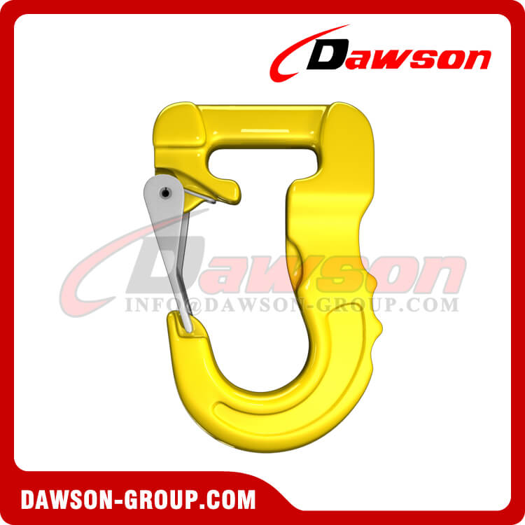 Grade 100 Web Sling Hook, G100 Synthetic Alloy Round Sling Hook 3T - Dawson Group Ltd. - China Factory