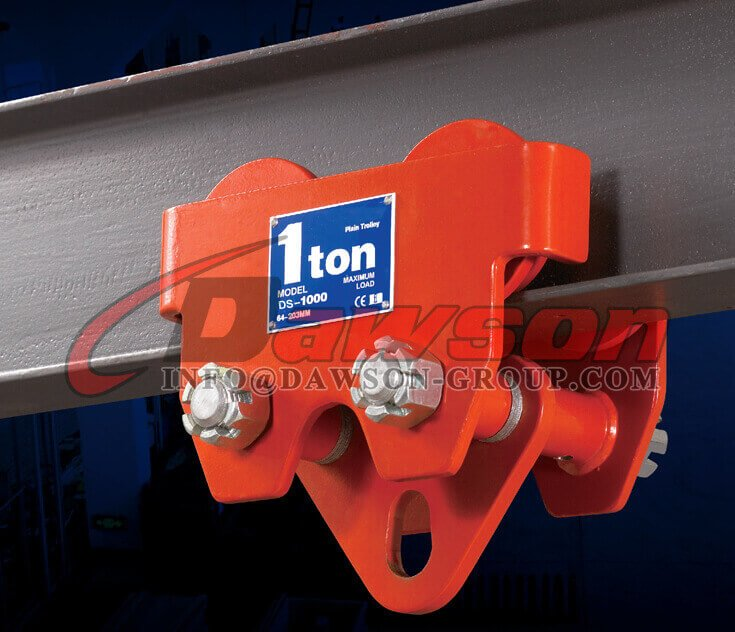 1 Ton Plain Push Trolley for Hoist - Dawson Group Ltd. - China Supplier, Factory
