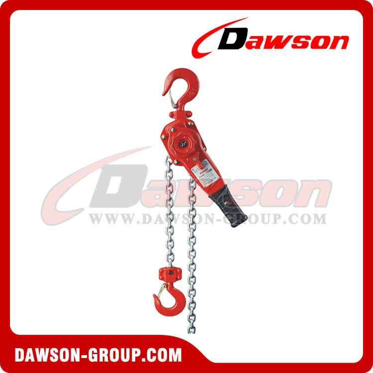 DSVG 0.8T - 9T Lever Block, Manual Lever Hoist for Lifting Goods