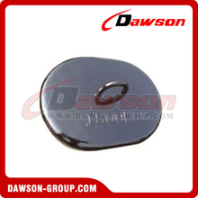 Black Paint Steel Sinker for Offshore Platform / Concrete Sinkers for Mooring System