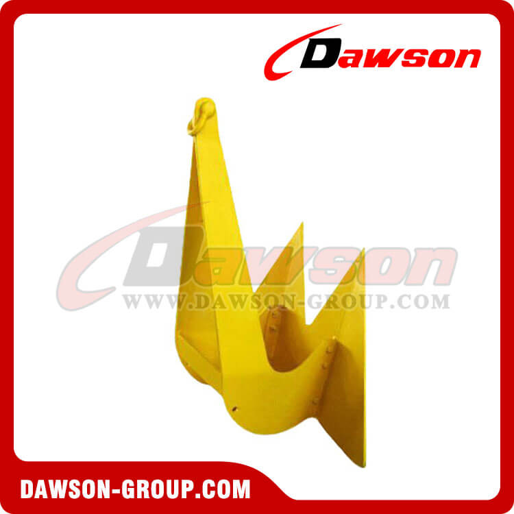 Marine Double Shank Anchor Stingray High Holding Power Anchor Type B
