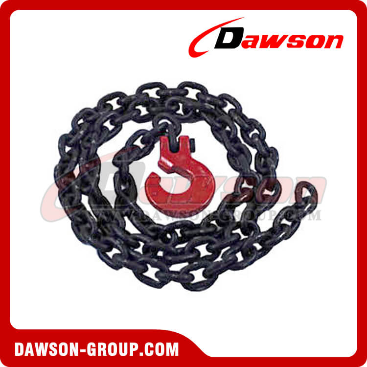 G100 Logging Chain Chokers Grade 100 Chain Choker with Clevis Forest Hook - Dawson Group Ltd. - China Supplier