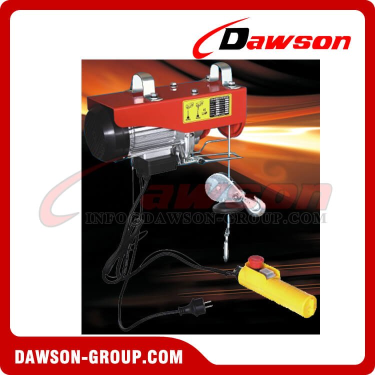 DS-PA-200E-DS-PA-1000E AC Mini Electric Wire Rope Hoist for Lifting Equipment