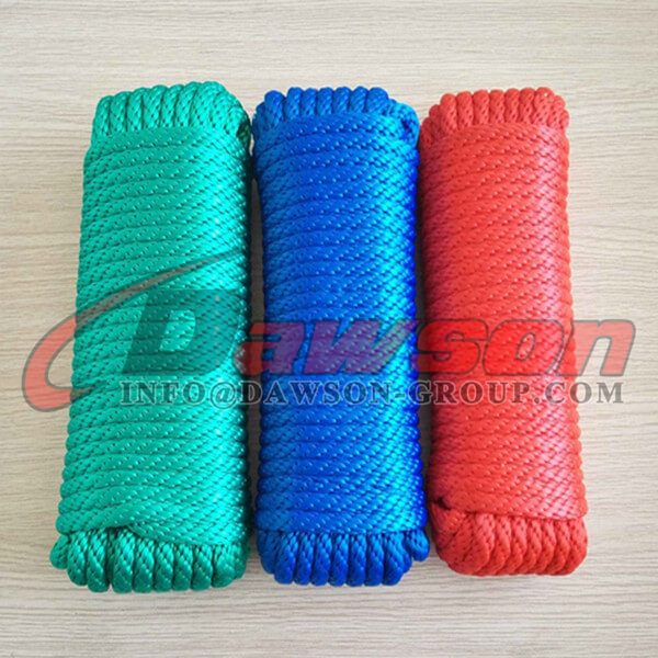 Solid Braided PP Rope, Polypropylene Rope - Dawson Group Ltd. - China Manufacturer, Supplier