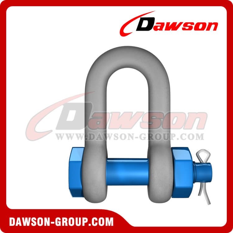 Hot Dip Galvanized US Type Chain Shackle with Safety Pin - China Supplier, Factory