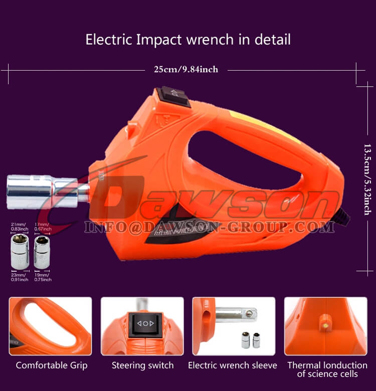 Electric Impact Wrench in Detail - Dawson Group Ltd. - China Manufacturer, Supplier