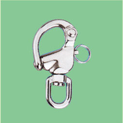 S/S SWIVEL SNAP SHACKLE-ROUND HEAD