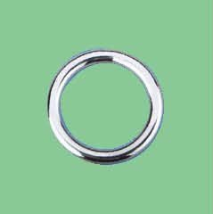 S/S WELDED ROUND RING