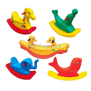 Amusement Park Colourful Children Play Toys Plastic Ride