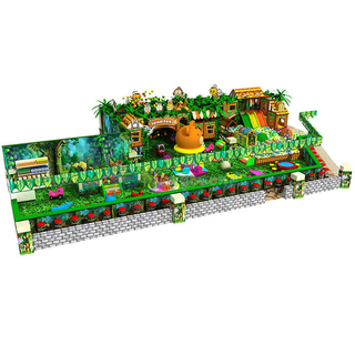 Jungle Theme Children Indoor Soft Playground for sale