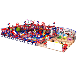 Large Amusement Park Commercial Indoor Playground Theme