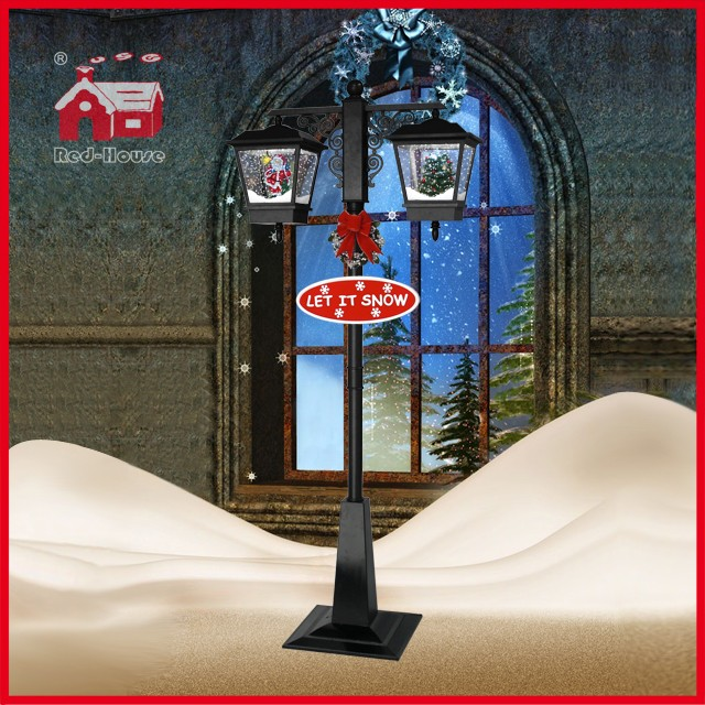 (LV188DS-HH) Lighted Christmas Tree Santa Claus LED Indoor Artificial Light