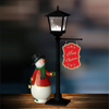 Mini table lamp music lamp snow light effect Christmas Decoration Supplies