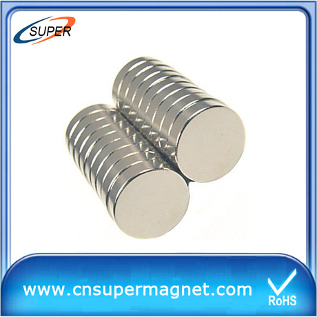 Promotional 9.5*2.5mm strong disc ndfeb magnets