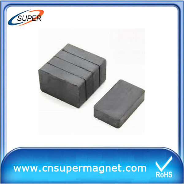 Ferrite magnetic block