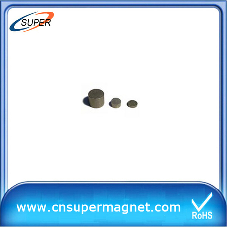 Hottest sale D6*2mm Sintered Smco Magnet