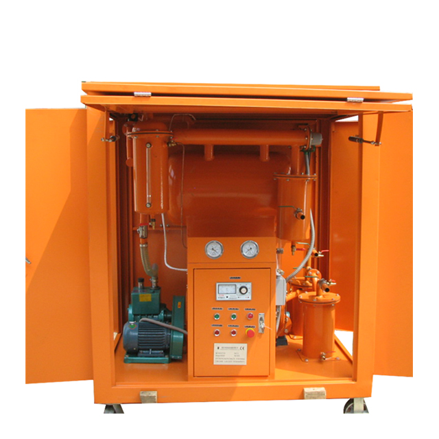 ZY-M Outdoor mobile vacuum transformer oil purifier