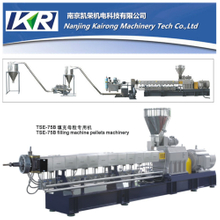 Plastic Pellets Twin-Screw Extruder Filler Masterbatch Making Machine