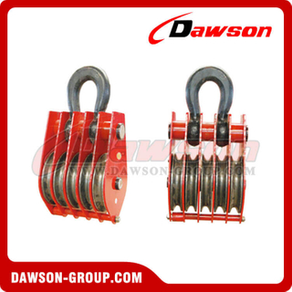 DSPB-F5 Rings Series Closed Five Wheels Pulley