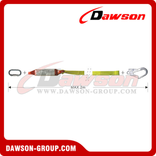 DS6105 Energy Absorbers Webbing Lanyards EN355 EN354